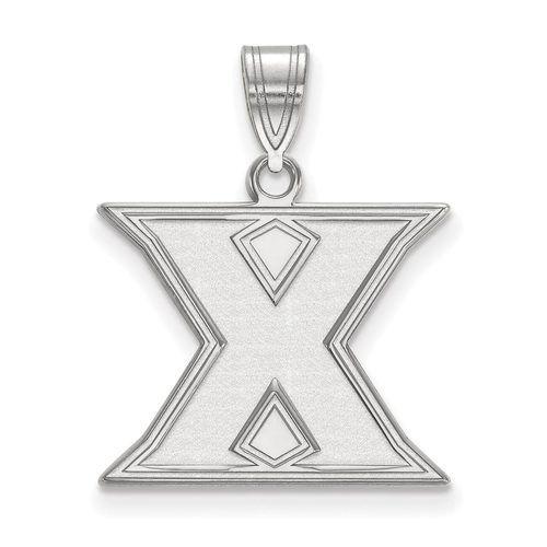 925 Sterling Silver Rhodium-plated Laser-cut Texas A/&M University Medium Pendant
