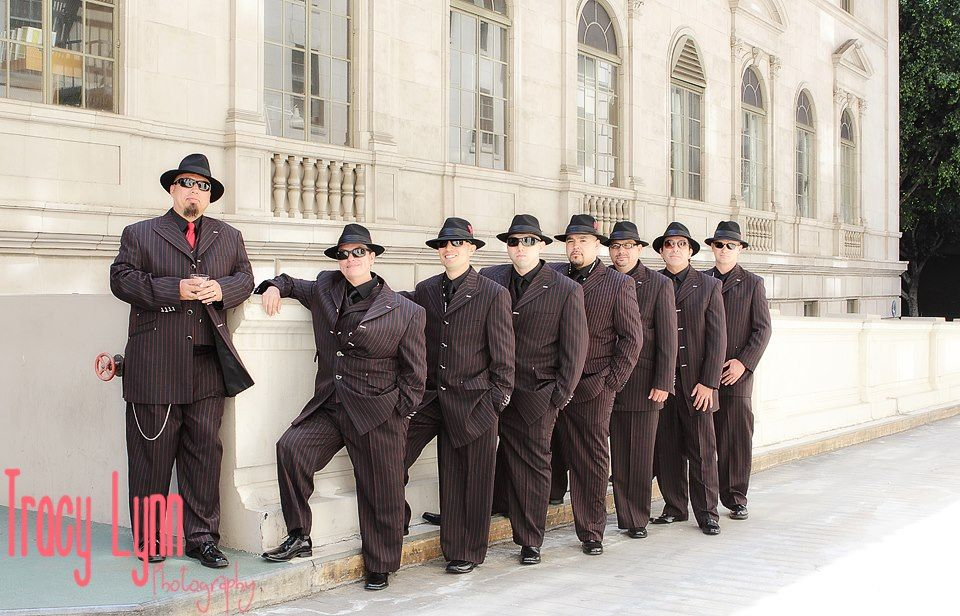 groomsmen | Perez-Stewart Wedding | Pinterest | Zoot suit wedding ...