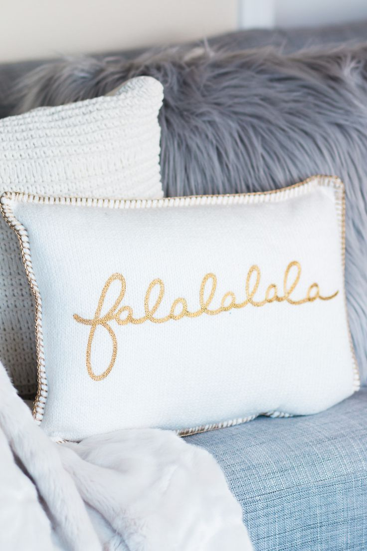 Cozy Holiday Home Decor | Faux fur throw, Fur throw and Cozy