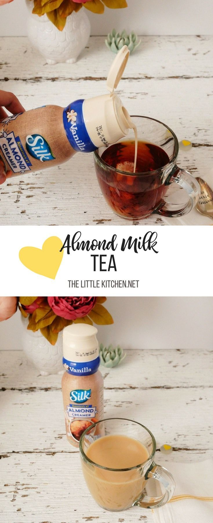 Almond milk tea my mornings malvernweather Choice Image