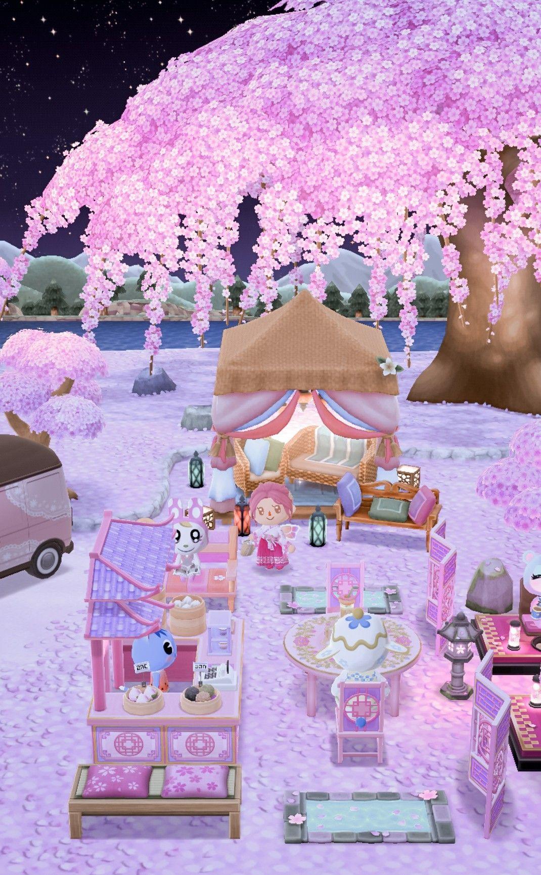 I Love My Pink Campsite Somuchhh Animal Crossing Pc Animal Crossing 3ds Animal Crossing Pocket Camp