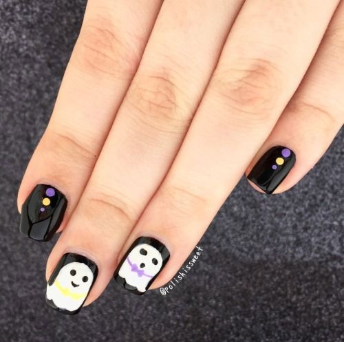 15+ Awesome Halloween Acrylic Nails Art Ideas | Halloween ...