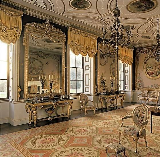 English Salon Living Rooms And Salons Drawing Room
