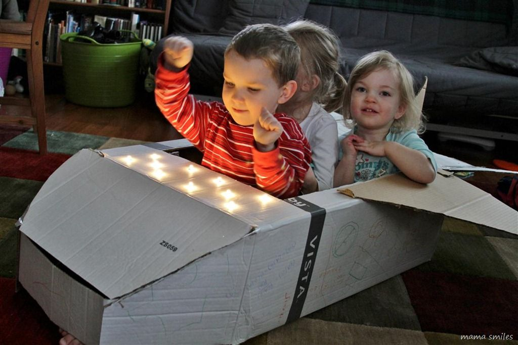 Cardboard Box Space Shuttle - Google Search