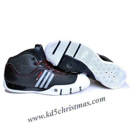 big sale 1d720 cd1f8 Adidas T-Mac 7 Tracy McGrady Shoes Black White
