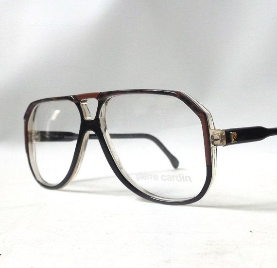 reputable site most popular new products vintage 1970's pierre cardin eyeglasses black by ...