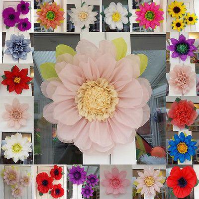 Pompoms Tissue Paper Flower 45cm Wedding Venue Decorations Centerpiece
