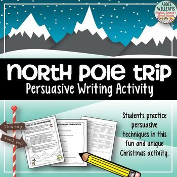 Christmas Writing! Students practice persuasive writing in this fun and engaging activity. ($)