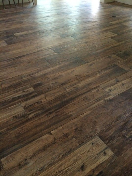 "Ceramic Wood Tile Floors - called ""Larex"" and the color is ..."