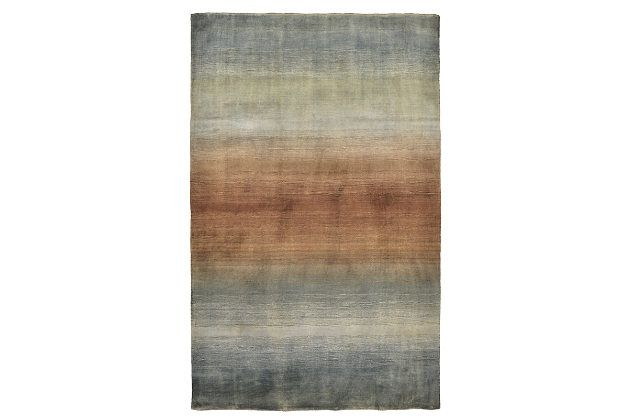 Home Accents 5 X 8 Rug By Ashley Homestore Blue Home Accents Home Rugs