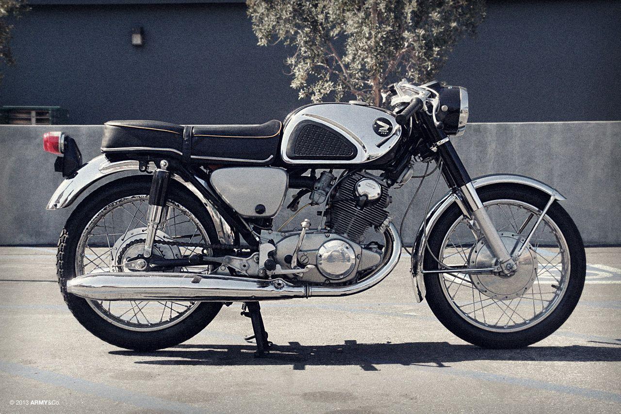 e2f09553f53 1968 Honda CB77 305 Super Hawk