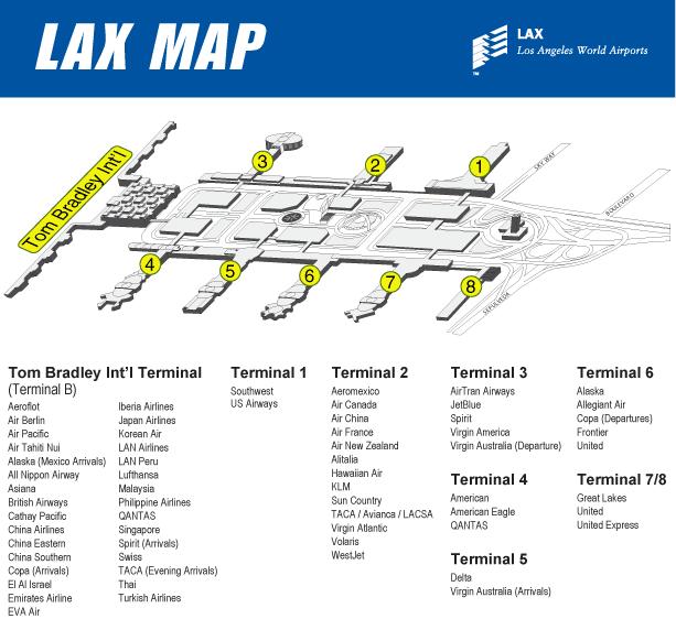 Lax Map Google Search Air China Map Desert Travel