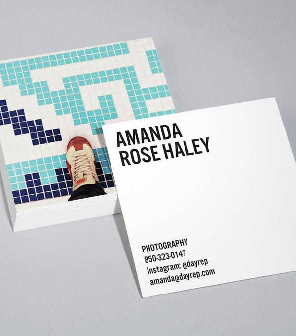 Browse Square Business Card Design Templates Moo United States Business Card Template Design Business Card Design Business Postcards