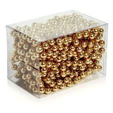 Wilko natures noel gold beadchain 5m christmas crackers wilko natures noel gold beadchain 5m solutioingenieria Gallery