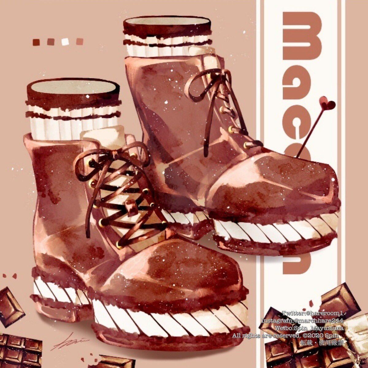 spin 通販中 on twitter 靴の日 kawaii illustration spin art cute illustration