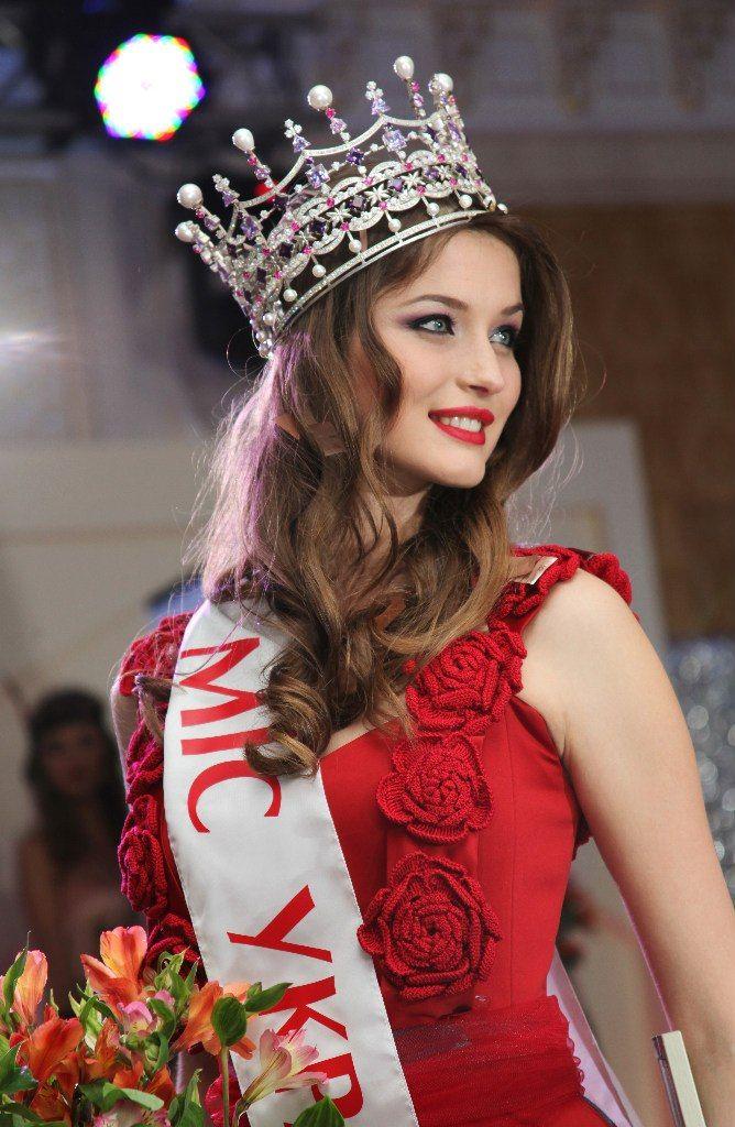 005 Miss World Ukraine 2013, Anna Zayachkivska