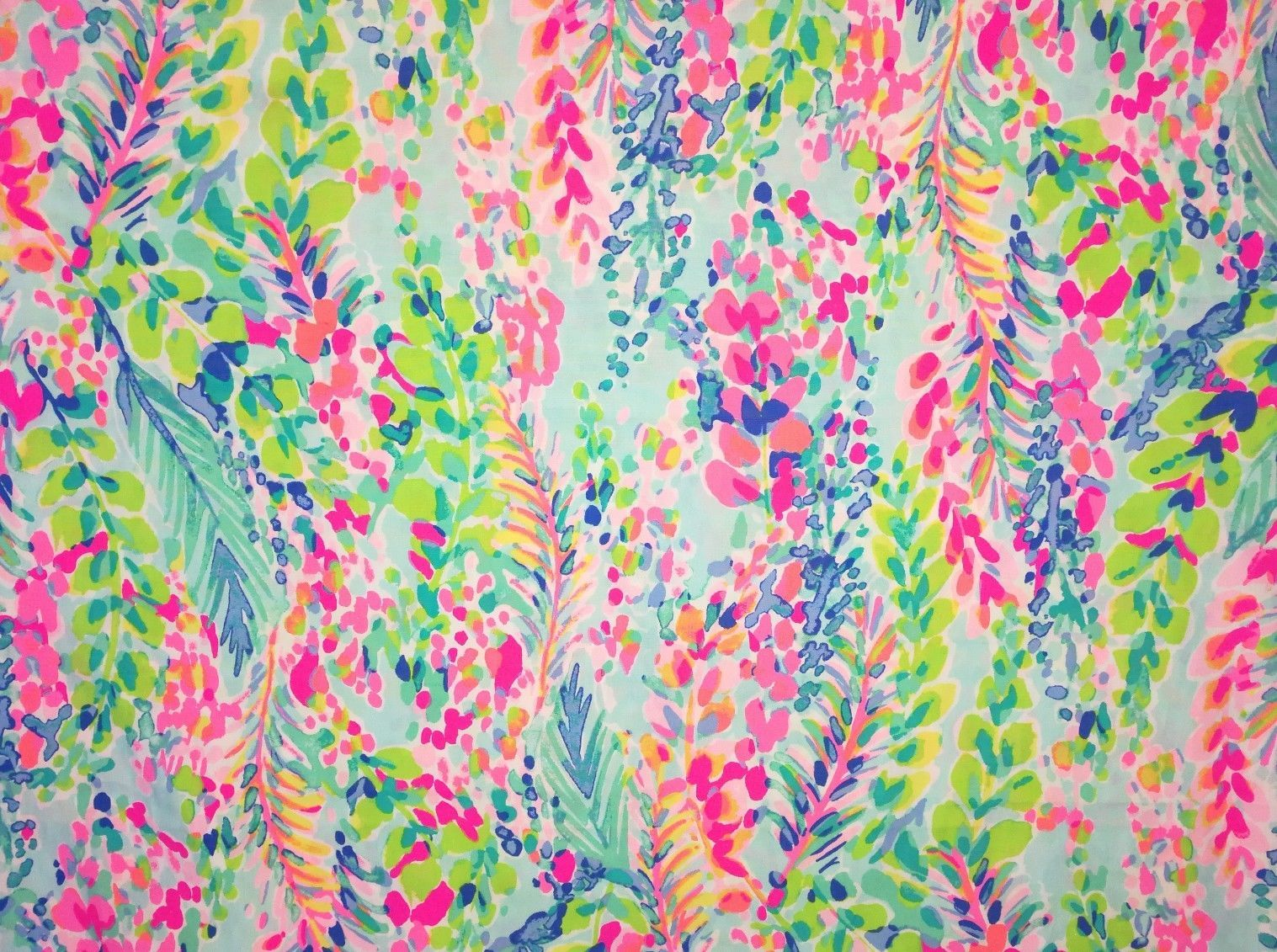 Details About Cotton Poplin Fabric Lilly Pulitzer