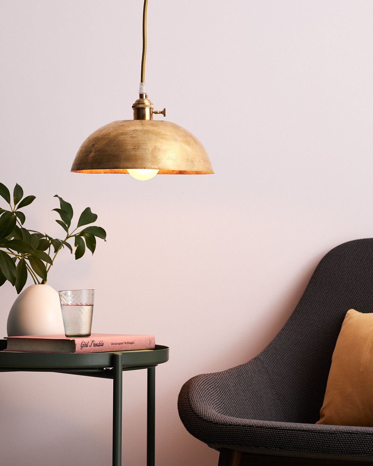 Brass Bowl Pendant Lamp Diy Pendant Lamp Diy Pendant Light Plug In Pendant Light