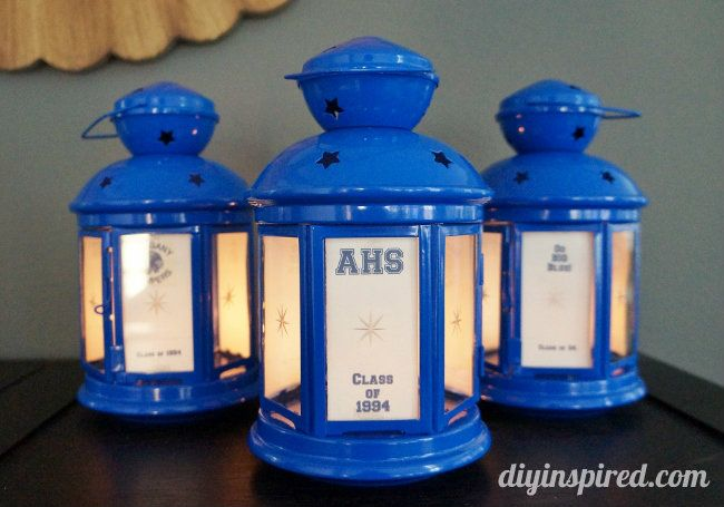 easy high school class reunion centerpieces reunion centerpieces high school classes and high. Black Bedroom Furniture Sets. Home Design Ideas