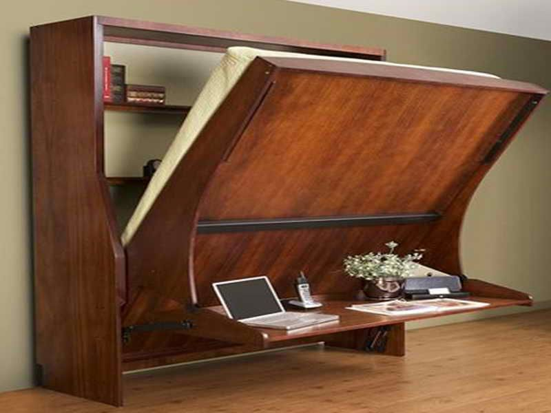 enchanting hidden bed furniture double creative wall | Like the idea much different color though! Wall Beds With ...