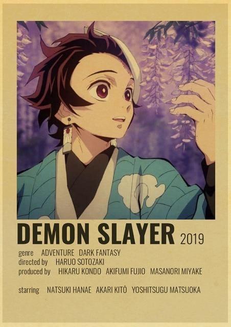 Photo of Retro anime poster – Q061 3 / 30X21cm