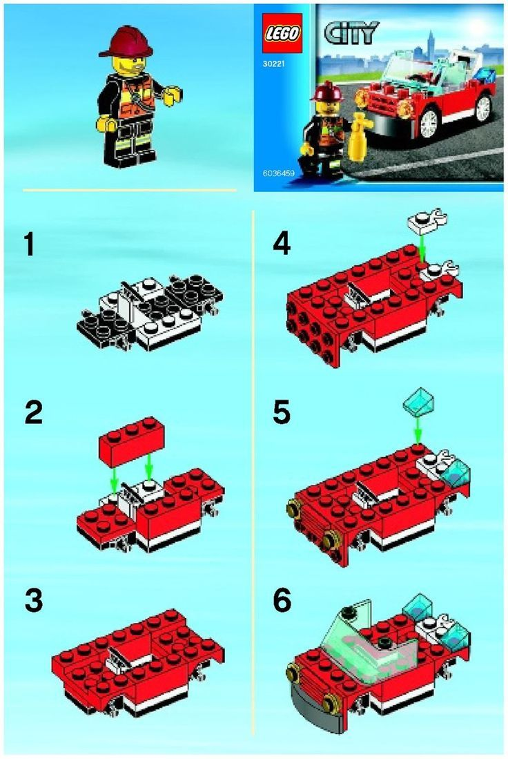 Page By Page Instructions For Every Lego Set Since 1965 I Will Need