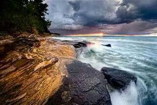 Munising, MI. Lake Superior.