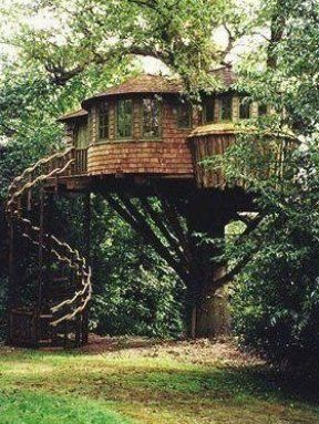 Treehouses do not need to be all right angles                                                                                                                                                                                  More #homedecor #home #roomideas #ideas #trendsdecor #decoration #design