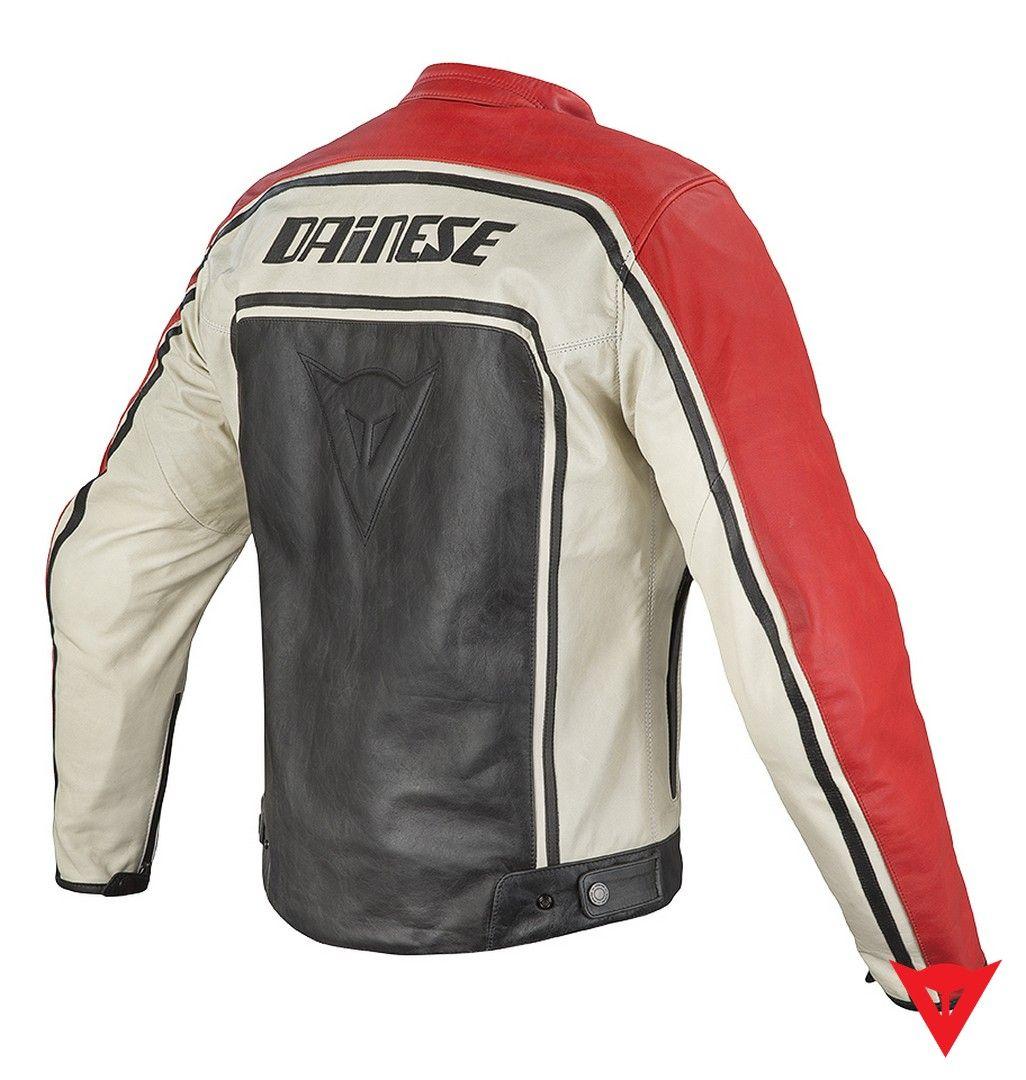 Dainese Leather Jacket Tourage Vintage Pelle Back Leather