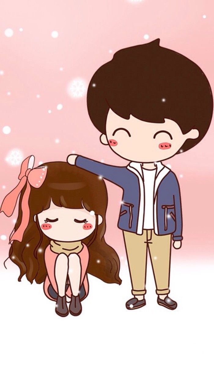 Pin By Ena Tresna On Wei Cute Couple Pictures Cartoon Chibi Couple Cute Couple Art