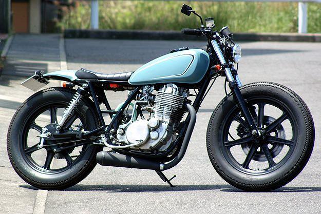 yamaha sr400big moon | sr400 cafe racer, sr400 cafe and motorbikes