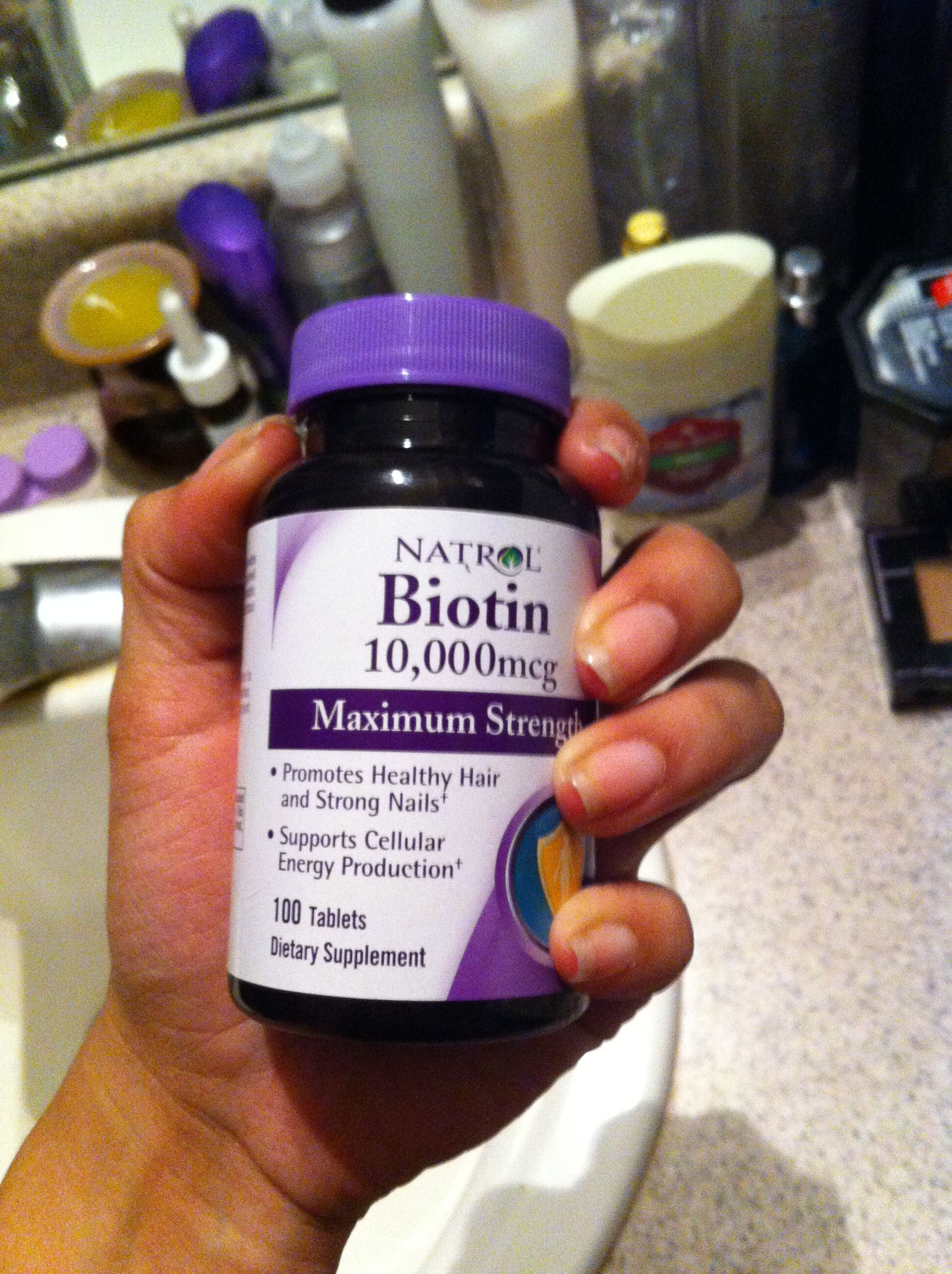This is my magic. Making your hair & nails grow fast & strong. Also ...