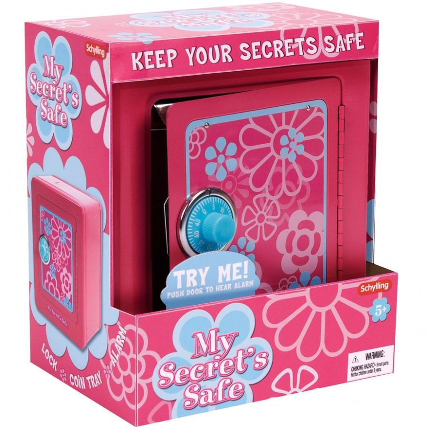 girls toys age 11 Secret safe, Toys by age, Toys for girls