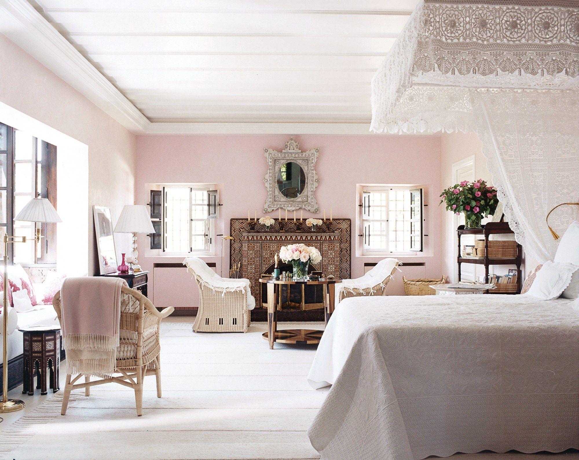 The Best Bedrooms In Vogue Beautiful Bedrooms Home Pale Pink Bedrooms