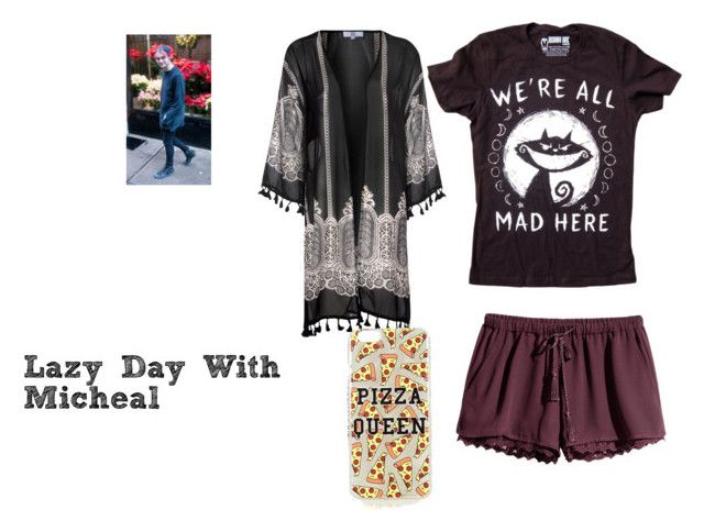 Lazy Day with Micheal by analis-briseno on Polyvore featuring polyvore fashion style True Decadence H&M Topshop clothing