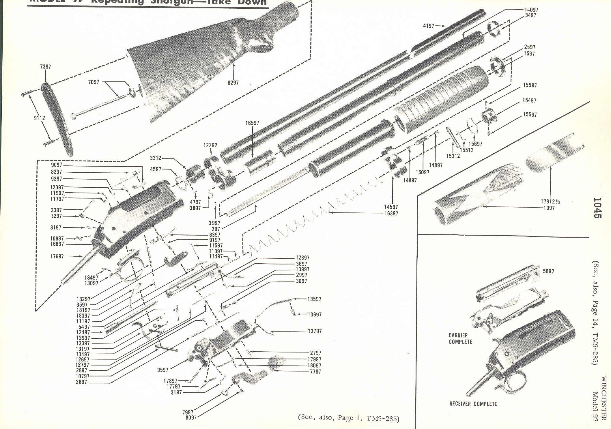 Pin By Silvio Valinhos On Winchester Model 97