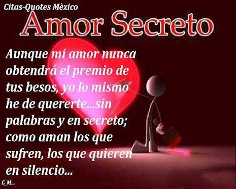 Amor Secreto Poema Cortos De Amor Amor Secreto Poemas De Amor