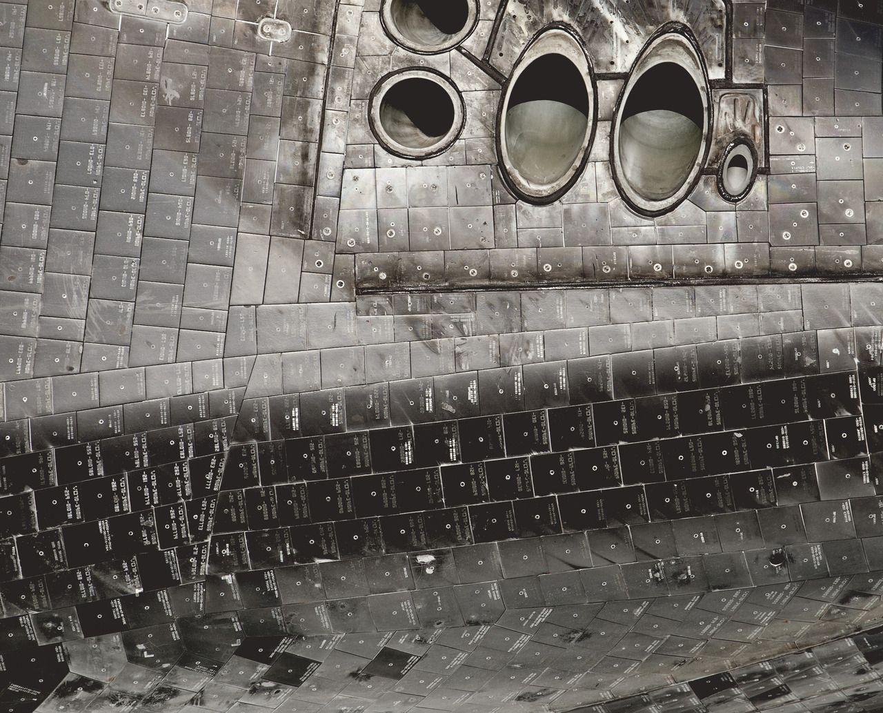 Space Shuttle Ceramic Tile And Thruster Detail Flight Pinterest