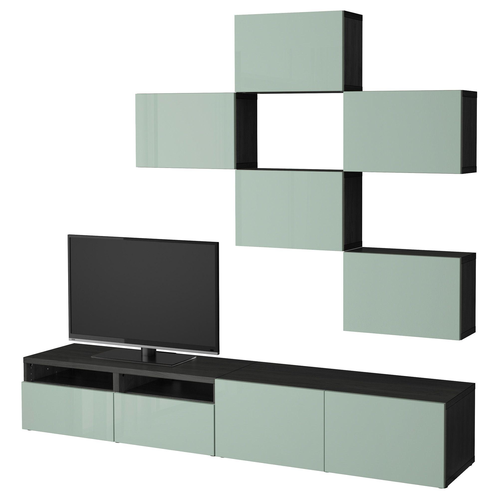 BESTÅ, TV-Möbel, Kombination, schwarzbraun Jetzt bestellen unter ...