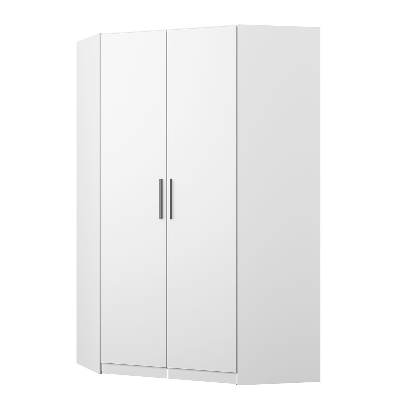 armoire d'angle kiydoo i - blanc alpin - 197 cm