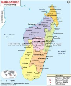 Isla De Madagascar Mapa.Mapa De Madagascar Madagascar Mapa Mapas Geograficos Y