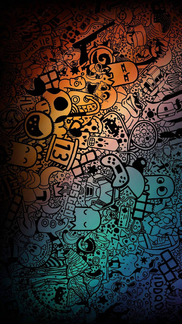 Whatsapp Hd Wallpaper Psychedelic Art Lukisan Galaksi Seni Jalanan