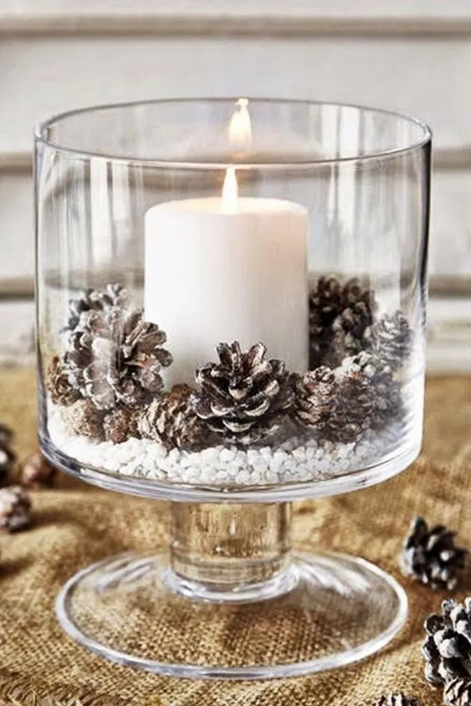 27+ Posh Christmas Home Decor Ideas for Your Beautiful Home #christmas #christmasdecor » ideas.hasinfo.net #christmasdecorations