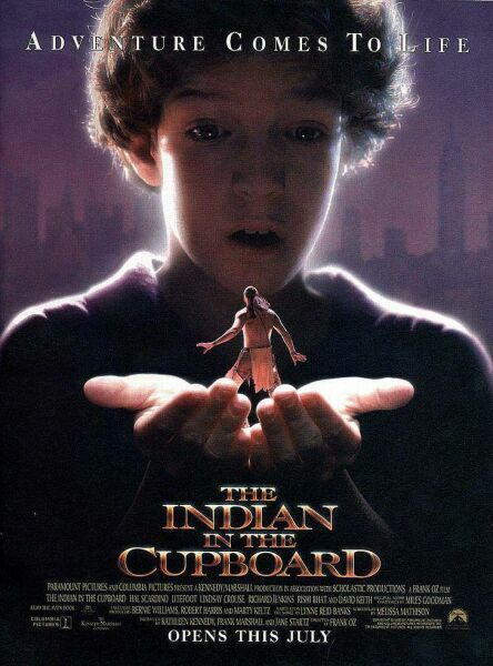 the indian in the cupboard. when i was first discovering green and blue screens.