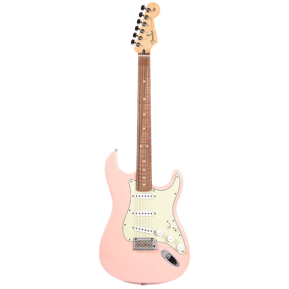 Fender Player Stratocaster Shell Pink w/3-Ply Mint Pickguard (CME Exclusive) Pre-Order #fenderstratocaster