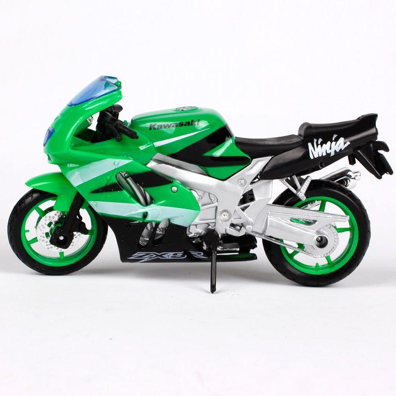 Maisto 1 18 Kawasaki Ninja Zx 12r Motorcycle Bike Diecast Model