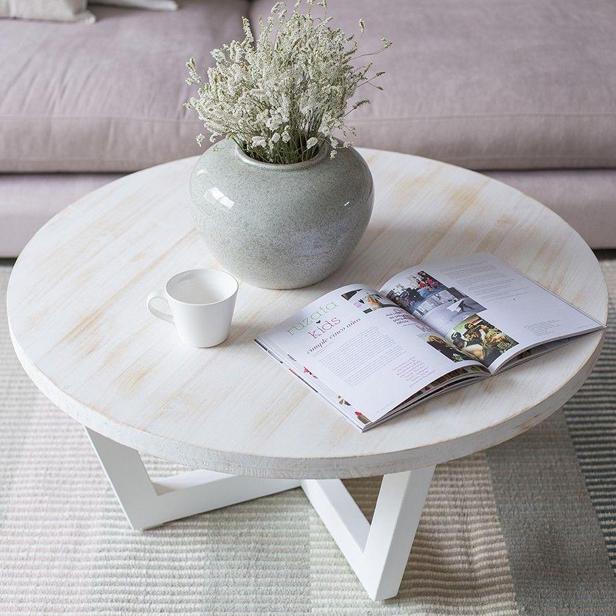 Arin mesa centro redonda mesas en 2019 mesas de centro - Mesas salon redondas ...