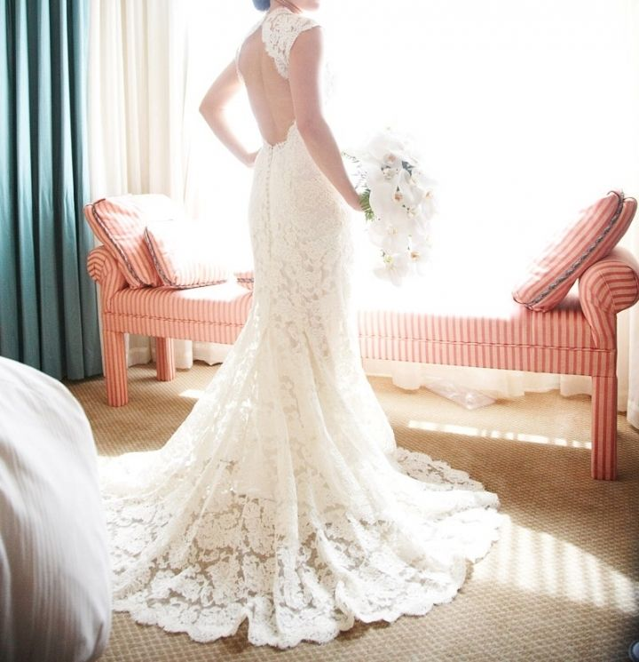 Scarlett Wedding Dress | French lace, Monique lhuillier and Scarlet