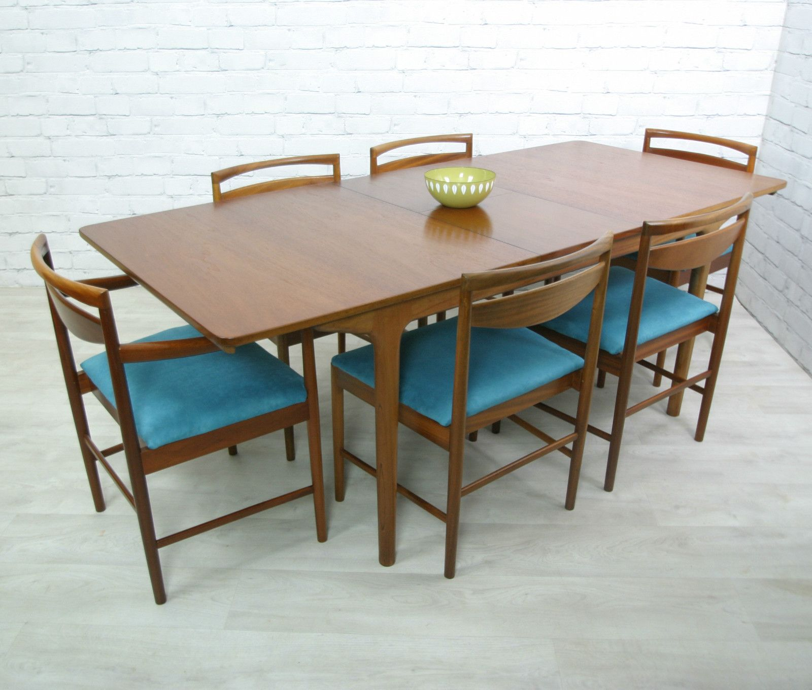 This is my meemee 39 s dining table mcintosh retro vintage for Danish modern dining room table
