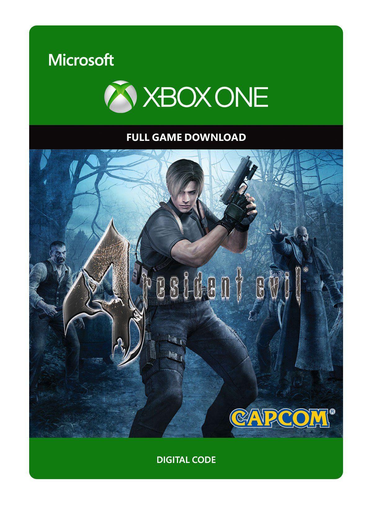 Resident Evil 4 Xbox One Digital Code Evil Resident Xbox